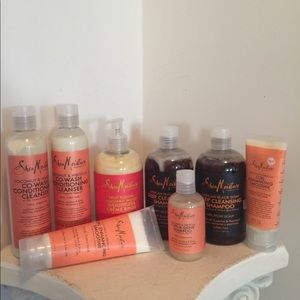 Shea Moisture (Lot of 8) - various products - NEW!